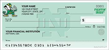 Notre Dame Personal Checks